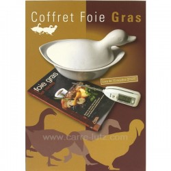 Coffret foie gras Arts de la table CL50121003, reference CL50121003