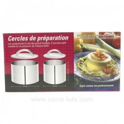 Boite cercle + poussoir La pâtisserie CL50150677, reference CL50150677