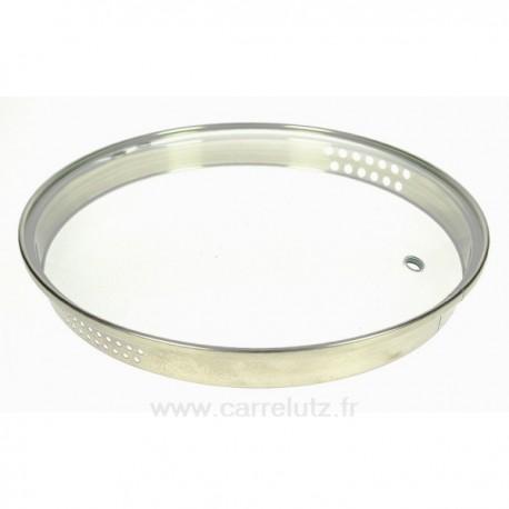 Couvercle seul diamètre 24 cm Virgo Bergoff, reference CL50159114