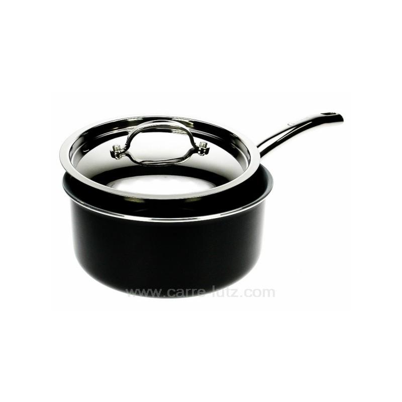 casserole en fonte d 39 aluminium laqu noir diam tre 20 cm model earthchef berghoff. Black Bedroom Furniture Sets. Home Design Ideas