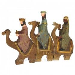 Ensemble 3 mages sur chameau Cadeaux - Décoration CL50211003, reference CL50211003