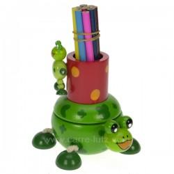 Pot a crayons Grenouille Carrousel manège et boite à musique CL50231039, reference CL50231039