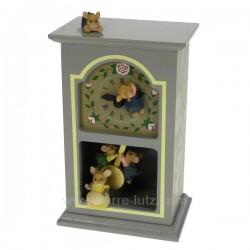Horloge ourson Carrousel manège et boite à musique CL50231045, reference CL50231045