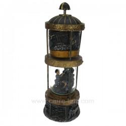 Lampe de mineur musicale Carrousel manège et boite à musique CL50231069, reference CL50231069