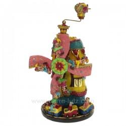 Manege moulin a vent Carrousel manège et boite à musique CL50231084, reference CL50231084