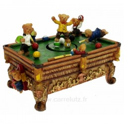 Billard musical avec oursons , reference CL50231097