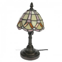Lampe style Tiffany Cadeaux - Décoration CL50250064, reference CL50250064