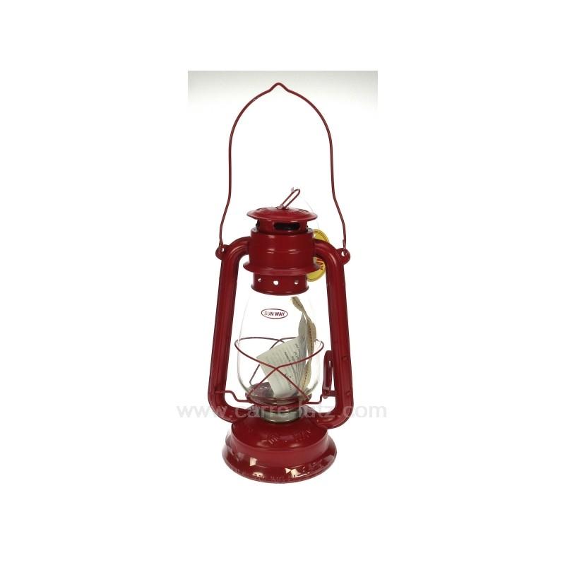 lampe tempete rouge ref cl50251016. Black Bedroom Furniture Sets. Home Design Ideas