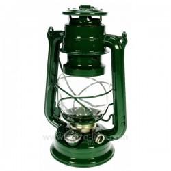 Lampe tempete vert fonce Cadeaux - Décoration CL50251017, reference CL50251017