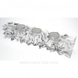 Barette 3 bougies en Cristal Cadeaux - Décoration CL50253006, reference CL50253006