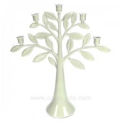 Chandelier arbre blanc Cadeaux - Décoration CL50253010, reference CL50253010