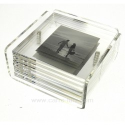 Dessous de verre porte photo Arts de la table CL70000051, reference CL70000051