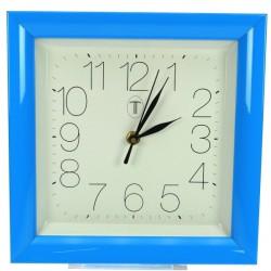 Horloge carre bleue Horlogerie CL80000111, reference CL80000111