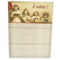 Memo toile A table La cuisine CL80100028, reference CL80100028