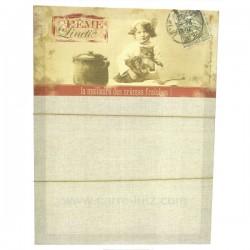 Memo toile Creme linette La cuisine CL80100031, reference CL80100031