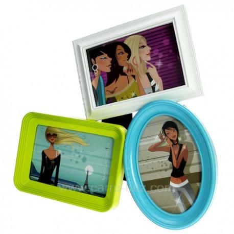 cadre pele mele bleu blanc vert ref cl84000153. Black Bedroom Furniture Sets. Home Design Ideas