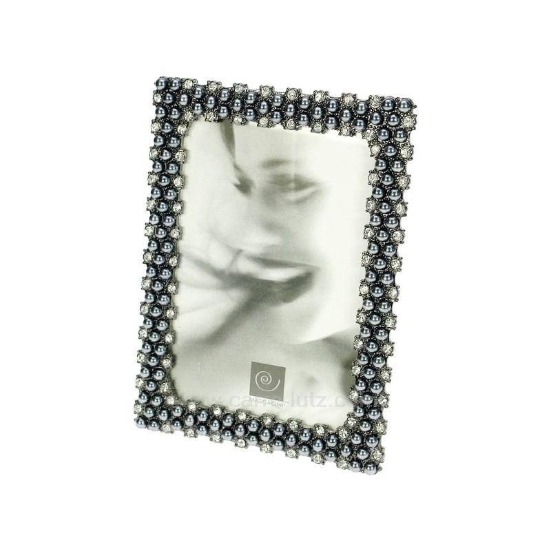 cadre photo 10x15 perle grise ref cl84000162. Black Bedroom Furniture Sets. Home Design Ideas