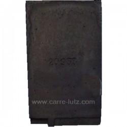 Brique arrière gauche P0020933 pour cuisinière bois charbon Deville 8611 , reference DV02093300