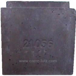 Brique de foyer avant P0021056 pour cuisinière bois charbon Deville 8611 , reference DV02105600