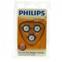 3 Grilles de rasoir HQ4 Philips Petit ménager HQ4, reference HQ4