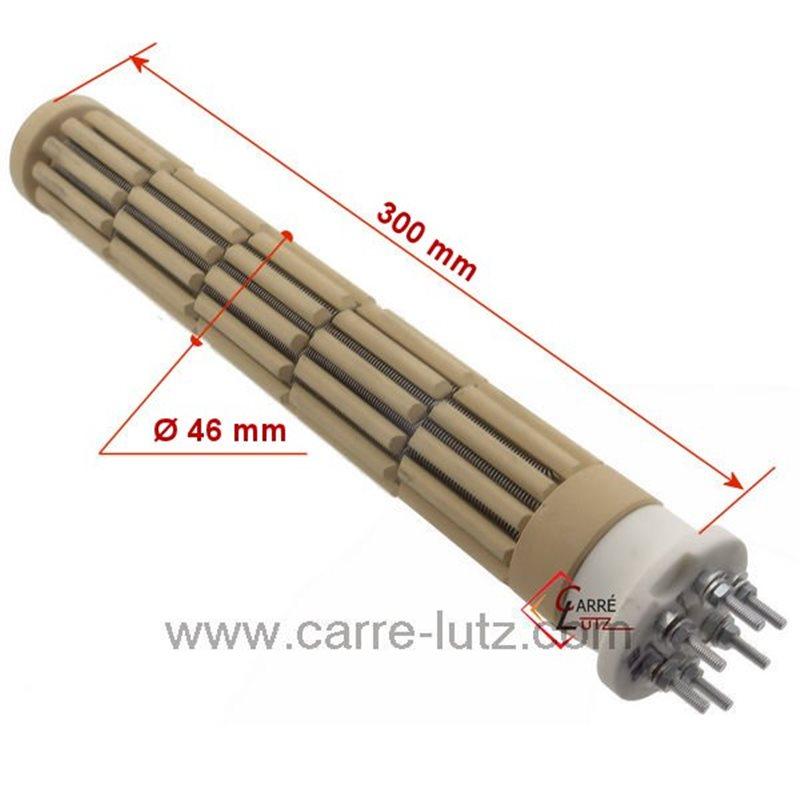 R sistance de chauffe eau st atite barillets 47x325mm - Tester resistance chauffe eau ...