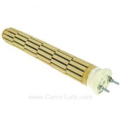 Résistance de chauffe-eau stéatite à barillets 47X325mm 1800W 220/240V monophaséLongueur sous tête 325 mm 6 éléments , refer...