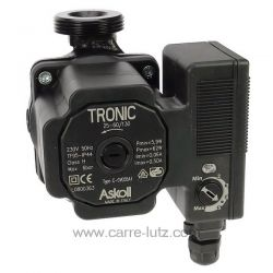 Pompe de circulation Askoll Tronic 25-60/130 , reference 215901
