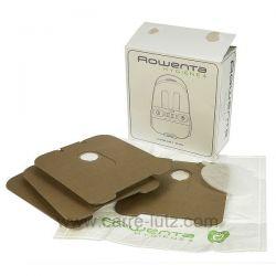 Sacs d'aspirateur par 4 Rowenta hygiene ZR001201 , reference 802371