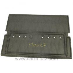 Plaque motif 6341051300 d'insert Franco Belge 330027