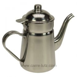 Cafetière conique inox 1,2 lt , reference 150IB214