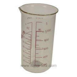 Verre mesureur en verre 1 litre , reference 991IB509
