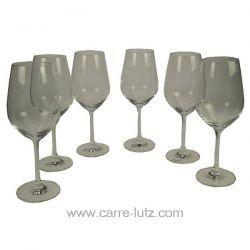 Verre à eau Vina x 6 en cristal tritan Schott zwiesel , reference CL20010119