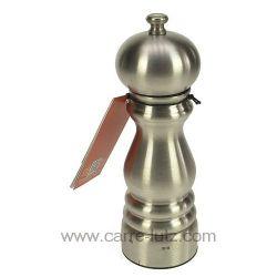 Moulin à sel en hauteur 18 cm Paris chef inox u'select Peugeot 18 cm