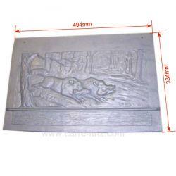 Plaque arrière P0018663 pour insert Deville 7780 CO7780.03 CO7780.05 CO7780.06 CO7780.08 CO7780.08H CO7780.08-DE02 , referen...