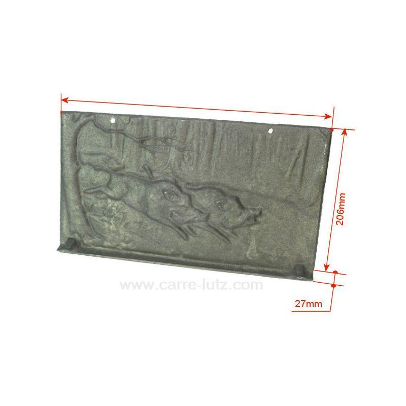 p0019536 plaque arri re pour insert deville 7842 ref dv0019536. Black Bedroom Furniture Sets. Home Design Ideas