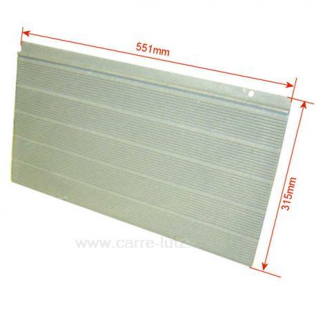 p0027868 plaque arri re pour foyer insert deville 7839 7841 ref. Black Bedroom Furniture Sets. Home Design Ideas