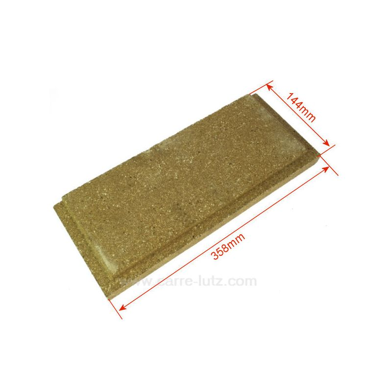 P0047165 - Brique gauche ou droite basse de foyer pour cuisinière D...