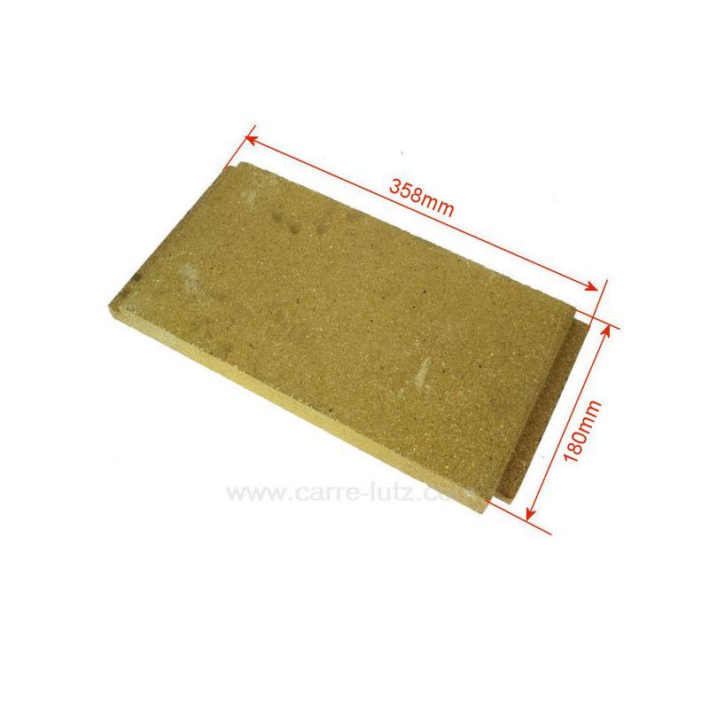 P0047166 brique gauche haute de foyer pour cuisini re for Brique refractaire pour foyer