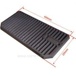 Grille charbon10218374000 10218375500 pour convecteur Godin Grand Ariègeois 3740 3753 3755 , reference carre-lutz 704712