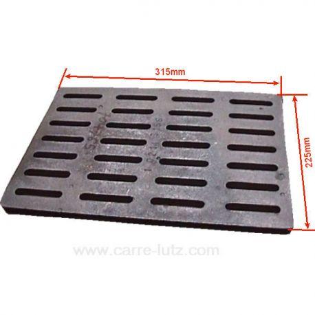 20214315501 grille de fond pour insert godin 3258 3268 665103 665303 foyer 3273 3283 - Grille de protection pour insert ...