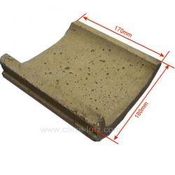 Supplement de brique de coté 1240701 de convecteur Franco Belge 105231, reference FB105231