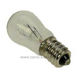 Ampoule de réfrigérateur E10 10W Bosch Siemens 00159143