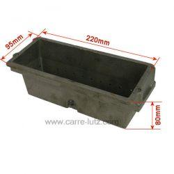 Pot bruleur ou creuset de foyer pour poele a granulé Ungaro