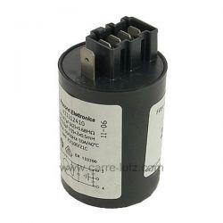 Filtre antiparasite 0,47 mf 250V de lave linge Electrolux 1240343523 , reference 230107