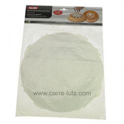 Set de 10 pochoirs plastique diamètre 21 cm pour gâteaux , reference CL50150829
