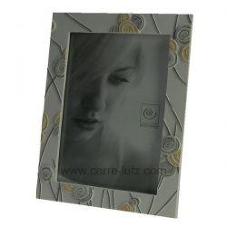 Cadre photo 13 x 18 cm tourbillons