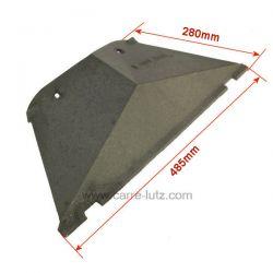 Déflecteur CH600991210 pour insert Godin 1210