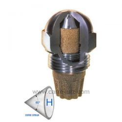 Gicleur inox Fluidics 1 Gph 60° HF