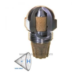 Gicleur inox Fluidics 1,35 Gph 45° H