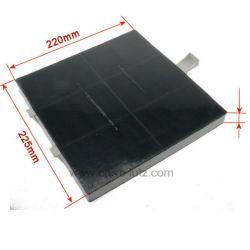 Filtre de hotte charbon actif 00360732 DHZ5185 de hotte Bosch Siemens